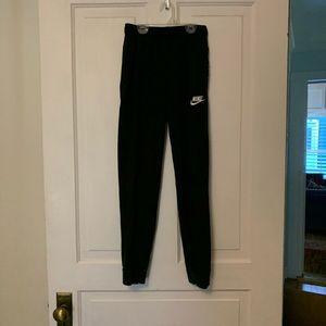 YOUTH SIZE L Black Nike Sweatpants